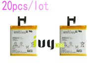 Cheap 20pcs lot 2330mah LIS1502ERPC Replacement Battery For Sony Xperia Z   C L36HLt36h L36i SO-02E C6603 C6602 S39h C2305 C6600 C660X Batteries
