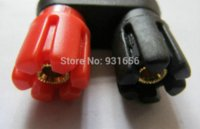 audio cables canada - 2 Banana Plug Double Binding Post Audio Cable Connector Speaker connector speaker speakers canada