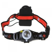 Wholesale Ultra Bright lm CREE Q5 LED Headlamp Headlight Zoomable flashlight head light For Outdoor Hunting Fishing Lamp