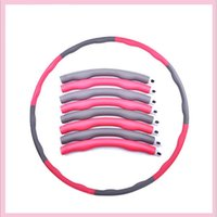 Wholesale china manufacturer inch pounds plastic foam fitness exercise massage hula hoop