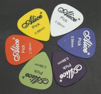Wholesale Bass Guitar Picks Alice Multi Smooth ABS Custom Acoustic Electric Guitarra Plectrums Accessories Musical Instrument Puas H210893