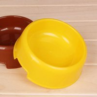 Wholesale washloesale hot sale Pet Dog plastics Travel Bowl Dog Feeder Dod Dishes Non Toxic Dog Supplies Pet Supplies