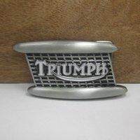 Wholesale Handmade Fashion triumph belt buckles metal west cowboy brand DIY wild fashion men Black silver belt buckle Turbo Nos Tunning