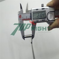 Wholesale 12v w Right angle cartridge heater with metal hose and lead wire length mm