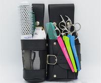 Wholesale PU Leather Scissor Holster Hair Stylist Scissors Pocket Cinturon Porta Tijeras Tool Pouch
