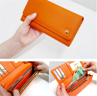 big red envelope - s7 wallet case Fashion long big crown wallets pouch cases purse pu leather envelope handbag for iphone s plus samsung s7 edge note