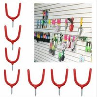Wholesale Wall mounted Y type Shovel Broom Metal Hooks Home Garden Wareshouse Tools Pothhook Fitting Good Helper