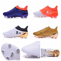 Wholesale 100 Original MERCURY X PureChaos FIRM GROUND FG AG Mens Soccer Boots Cheap Soccer Cleats Football Soccer Shoes High Top Football Boots