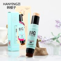 Wholesale Authentic Korean Clara moisturizing concealer foundation repair capacity of two headed stick stick stick concealer to brighten the nose ZP01