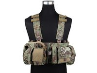 Wholesale UW Gen Front Chest Rig Combat Army EMERSON Hunting MF Style V Split Airsoft Painball Gear MR