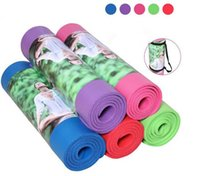 Wholesale Yoga Mat Fitness Mat Eco Friendly With The Best Recyclable Non Slip and Durable Tablet Support Pad Yoga Mat