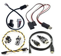Wholesale A Micro HDMI USB TO AV Real Time G FPV Power Input amp Video Output Cable for Gopro Hero3 Hero