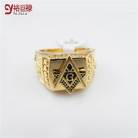 Wholesale New Arrival fashion K Real Gold Plated HIphop Ring men Rings hip hop rock jewelry bar club for men women Birthday gift