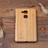 bamboo pieces for sale - Hot Sale Bamboo Wood Cover For Huawei Ascend Mate Wooden Case Cell Phone Piece for Mate