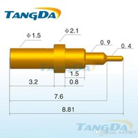 batteries impedance - Tangda pogo pin connector DHL EMS D2 mm A Low impedance Mobile phone connector Current pin Battery pin Spring Charging pin