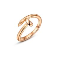 allies band - Jewelry Ally Express Cheap Gold Fashion Nail With Spring Design Trending Gold Rings Gold fashion