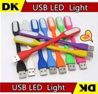 Wholesale 200pcs xiaomi USB LED Lamp Light Portable Flexible Led Lamp for Notebook MACBOOK Laptop Tablet PC USB Power
