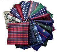 adult affairs - Men s pocket towel wedding business affairs man suit shirt Pocket Square Polyester filament kerchief chest napkin Handkerchief