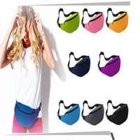 Wholesale High quality cheap Fashion Unisex Bag Travel Handy Hiking Sport Fanny Pack Waist Belt Zip Pouch Waist Bags B0167