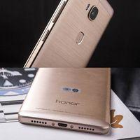 <b>Huawei</b> Honor 5X Snapdragon 616 Octa Núcleo FDD LTE 4G 13.0MP 5.5 pulgadas 1080P FHD 1080P Teléfono móvil de metal completo