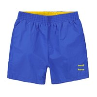 Wholesale 2016 Summer Small horse shorts LA casual cote polos freds short cotton men perriinglys COST polos swim shorts