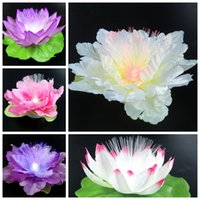Wholesale 10pcs Colorful Led Flash Lotus Flowers Night Light Toy For Children girls gift or holiday decorations