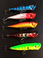 big bass bait - Hot Sale Top water Fishing Lure Popper Hard Bait Big Mouth Bass Poper Artificial Lures cm g Pieces