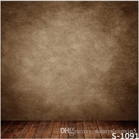 baby photography gallery - Brown Wall Indoor X7ft Children Baby Wedding Photography Vinyl Backgrounds for Photo Studio Gallery Backdrops