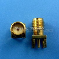 Wholesale 2Pcs Ghz SMA RP SMA Antenna Connector Adapter for M M M M G G Radio UHF RF Wireless Module CC1101 CC2500