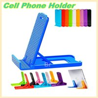 android desk phone - Collapsible Cell Phone Holder Foldable Table Desk Stands Holders For Apple iPhone S iPhone S Plus For Android Cell Phones