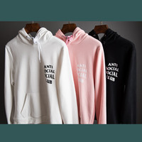 Wholesale Autumn winter Kawaii Anti Social Club Palace Anime Men Hoodie Hip Hop Streetwear Hoodie Jogging Men Pullover YEE ZUS Sport Women Hoodies
