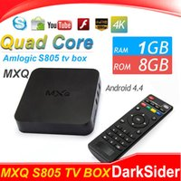 Wholesale MXQ Pro Amlogic S905 K Andorid5 TV BOX Quad Core GB GB WiFi Full HD KODI VS M8S Q7 T95 T10 PLUS
