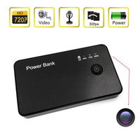 Wholesale 32GB x720P HD Mini Power Bank Hidden Spy Camera Motion Detection Digital Video Recorder Mini DVR DV Portable Security Camcorder