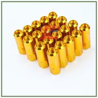 Wholesale Details about M14 X Wheel Nuts New OTO R mm Racing Wheel Nuts Screw Golden Aluminu