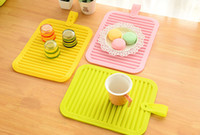 Wholesale Placemat dining table mat bowl pad coasters waterproof table pad slip resistant pad