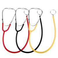 Wholesale Hot New Pro Dual Head EMT Stethoscope for Doctor Nurse Medical Student Health Blood Health Care