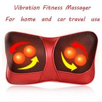 Wholesale 2016 Vibration Fitness Massager Infrared Heating Body Neck Massage Pillow for weight loss universal for v v