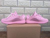 2016 nuevas mujeres 350 Boost zapatos casuales color de rosa púrpura naranja zapatos para caminar al aire libre zapatos de deporte corrientes respirables