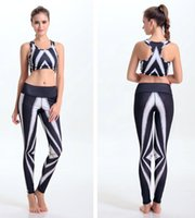 achat en gros de imprimé zèbre gilet sans manches-Zebra Camisoles Mode Zebra Tanks Chemises Noir Blanc Running T-Shirt