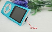 Wholesale 2015 MP3 MP4 Player Slim TH LCD Video Radio G Music FM Radio with speaker for DHL