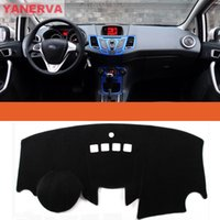 Wholesale High quality Interior Car Dashboard Cover Light Avoid Pad Photophobism Mat Sticker For Ford Fiesta Auto parts
