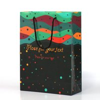 advertising packaging bag - Custom Multicolor Printing Gift Packaging Paper Bags Perfect For Promotion And Advertising Activities Personalized Printed Paper Gift Bags
