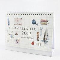 Wholesale quot Artisan Spirit quot Oct to Dec Desk Calendar Big Size Beautiful Scheduler Agenda Monthly Planner Checklist Memo Notebook Gift