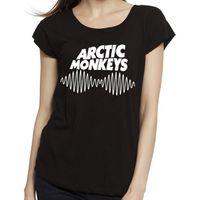 bad boy t shirts - Women Arctic Monkeys tshirt Cotton O Neck T ShirtBreaking Bad Heisenberg London Boy Woman Tops Tees RF T Shirt
