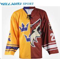 baseball team jerseys set - sublimation team set ice hockey jerseys ice hockey goalie jersey ice hockey wear