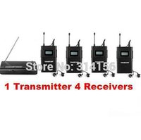 Wholesale Takstar wpm wpm UHF Wireless Monitor System In Ear Stereo Wireless Headset Stage monitors Transmitter Receivers
