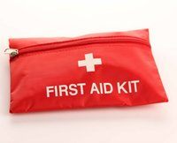 Wholesale 1st First Aid Kit Camping Car Emergency Holiday Travel Emergency Travel Survival First Aid Kit Medical Bag Packet