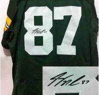 autographed jerseys - Signature Edition green White Jerseys Elite American Football Jerseys Autographed Men s Jersey Best Quality Football Wear