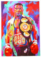 Wholesale Mike Tyson Boxer Boxing Sports Silk Wall Poster quot by quot inch