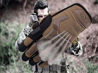 Wholesale Men Mechanix Tactical Military Gloves Airsoft Gloves For Shooting Outdoor Camping Hiking Gym GlovesM L XL